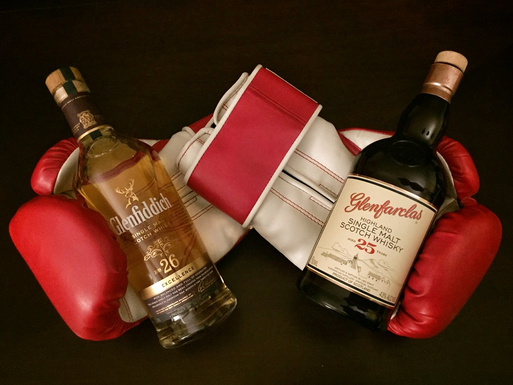 Glenfiddich 26 Excellence VS Glenfarclas 25