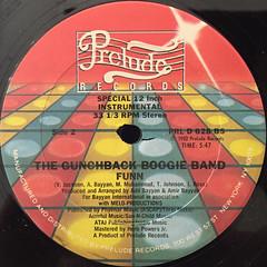 THE GUNCHBACK BOOGIE BAND:FUNN(LABEL SIDE-B)