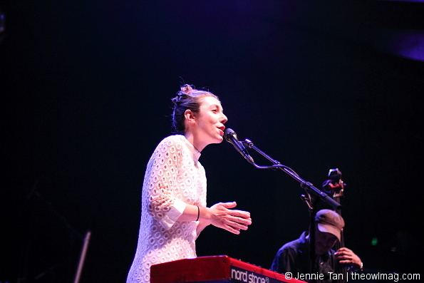 Julia Holter @ Hollywood Palladium, LA 10/8/2015