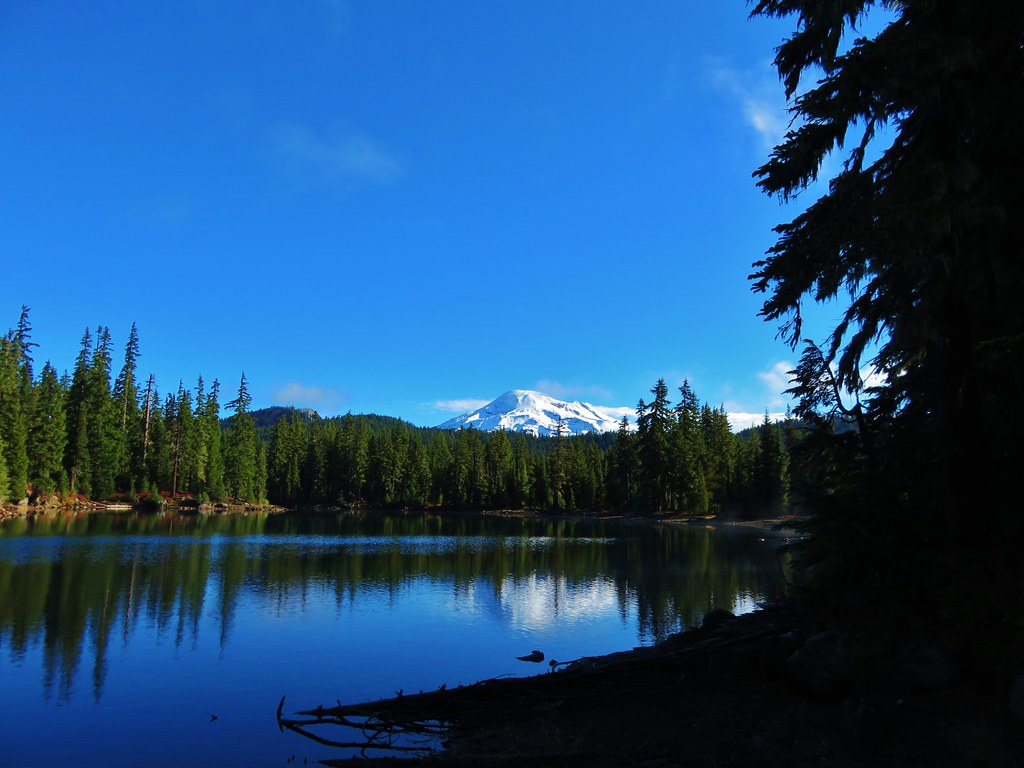 South Sister from Denude Lake