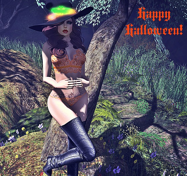 halloween 2015 - blacklace - second life