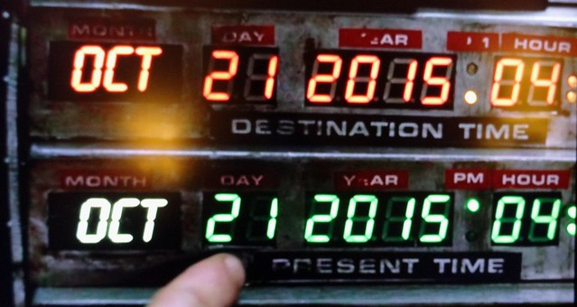 21 10 - Back to the Future 2 day