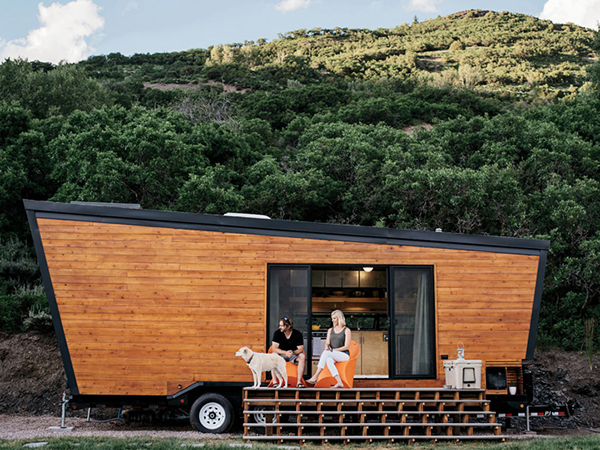 Brian and Joni Buzarde's Self-Designed Trailer Home