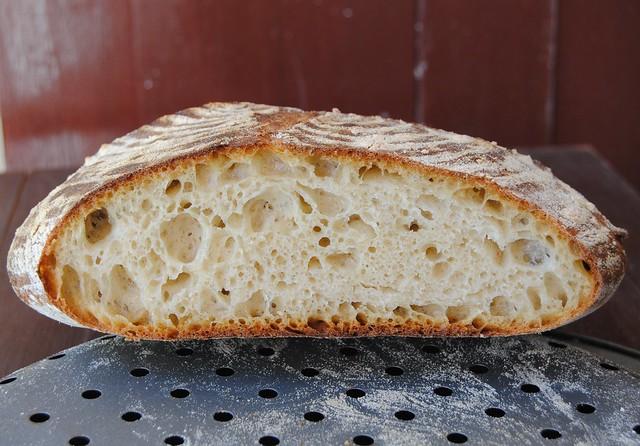 Kamut flour sourdough bread