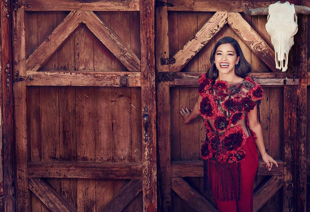 Джина Родригез — Фотосессия для «Cosmo For Latinas» 2015 – 2