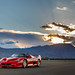 F50 and some crazy clouds by Effspot