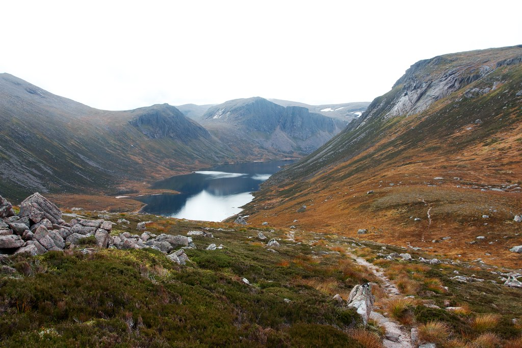 Loch Avon and the Saddle