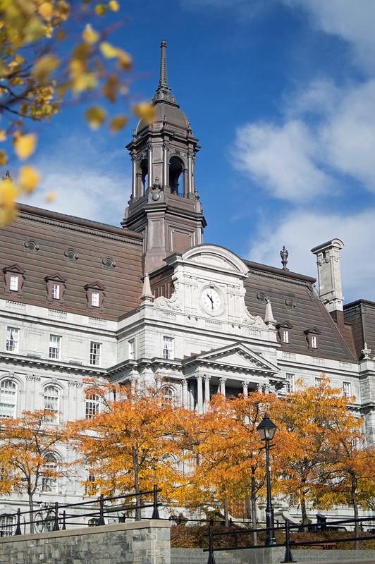 Hôtel de Ville, Montréal 2015-10-24