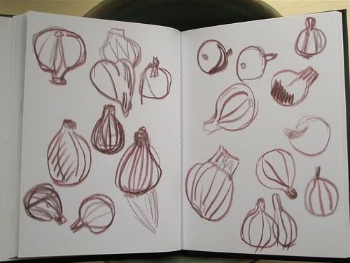 figs in pencil