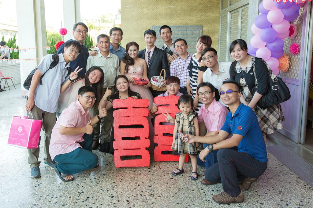 台南婚攝-文定歸寧宴 X 麻豆國小禮堂 (63)