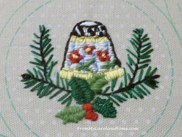Slow Stitching week 7 thimble