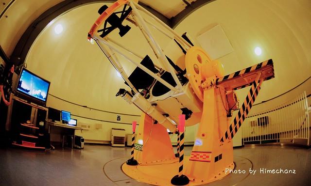 こちらが「すばる望遠鏡」と同じ反射望遠鏡の「むりかぶし」!