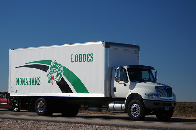 Monahans (TX) United States  city pictures gallery : monahans loboes international 4300 equipment truck monahans wickett ...