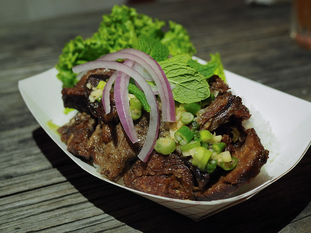Three Little Pigs - Beef Short Ribs Nam Tok