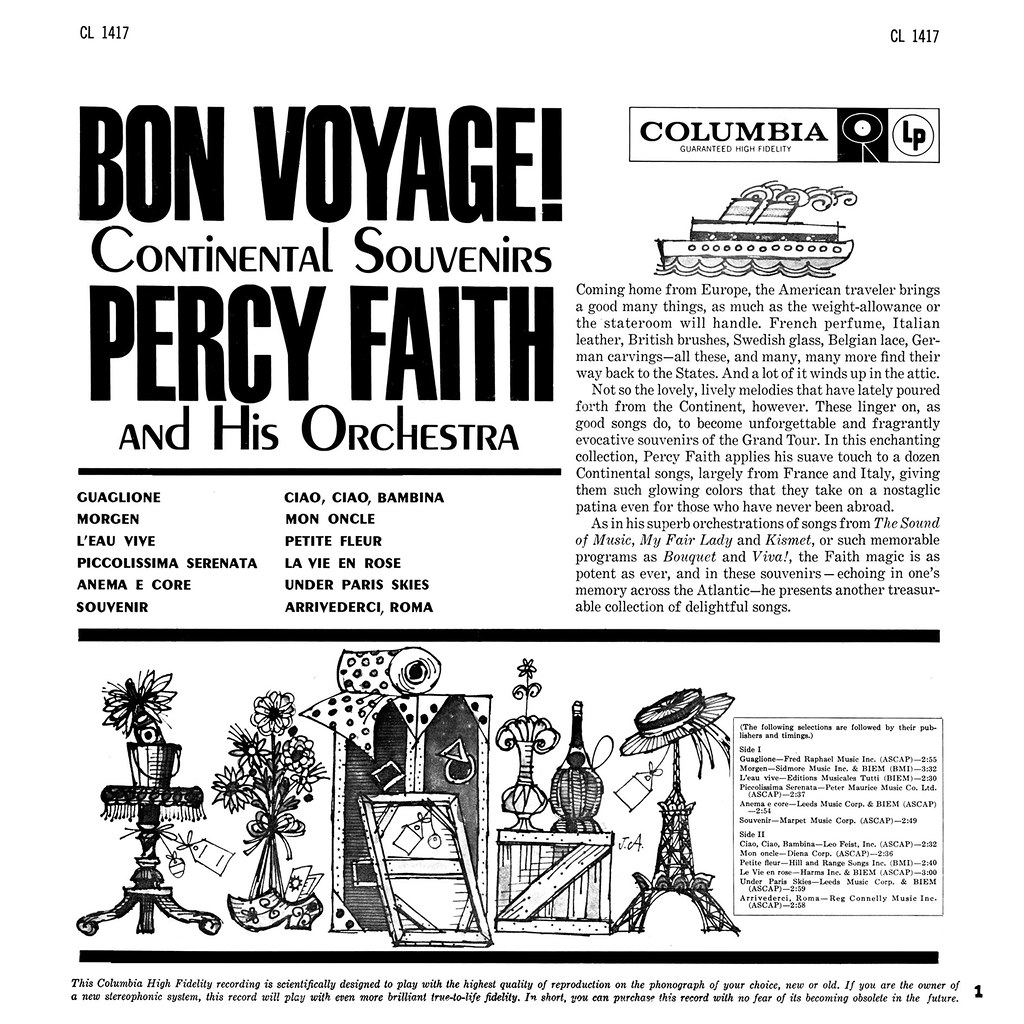 Percy Faith - Bon Voyage!