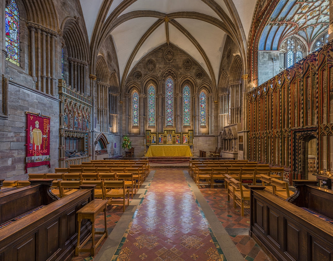 Hereford Cathedral - The Lady Chapel. Credit: David Iliff