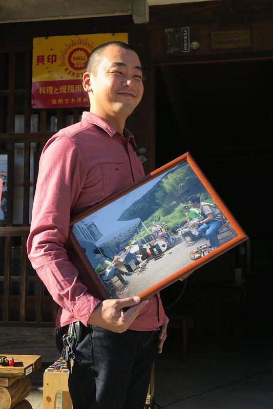 151201 グルメセンチュリーライド足助写真展@足助本町 田口邸