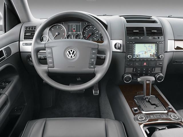 Volkswagen Touareg V10 TDI для рынка США. 2002 – 2007 годы