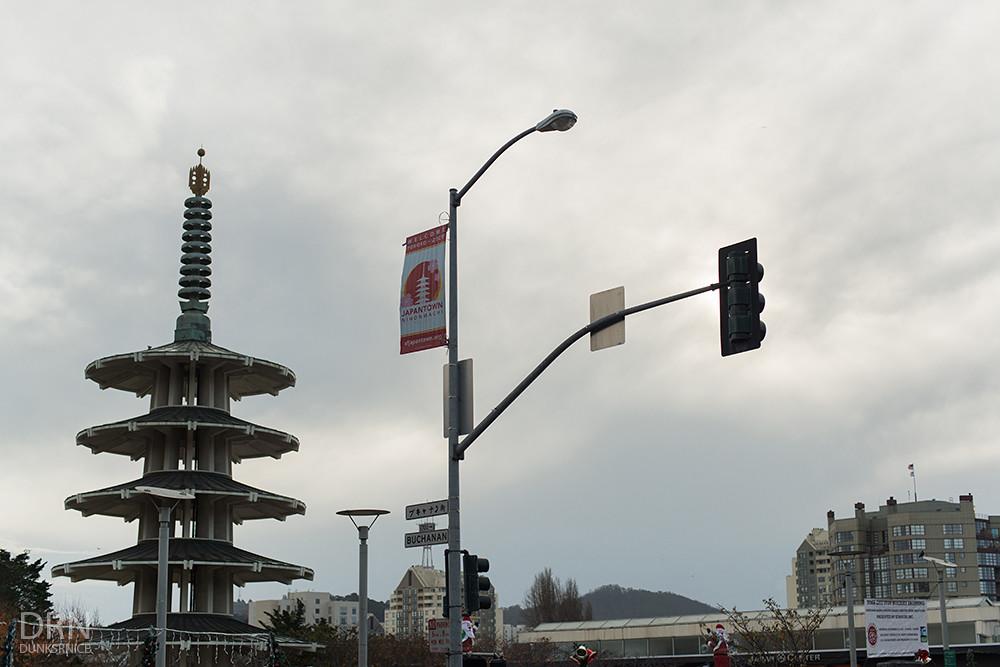 Japan Town, San Francisco.