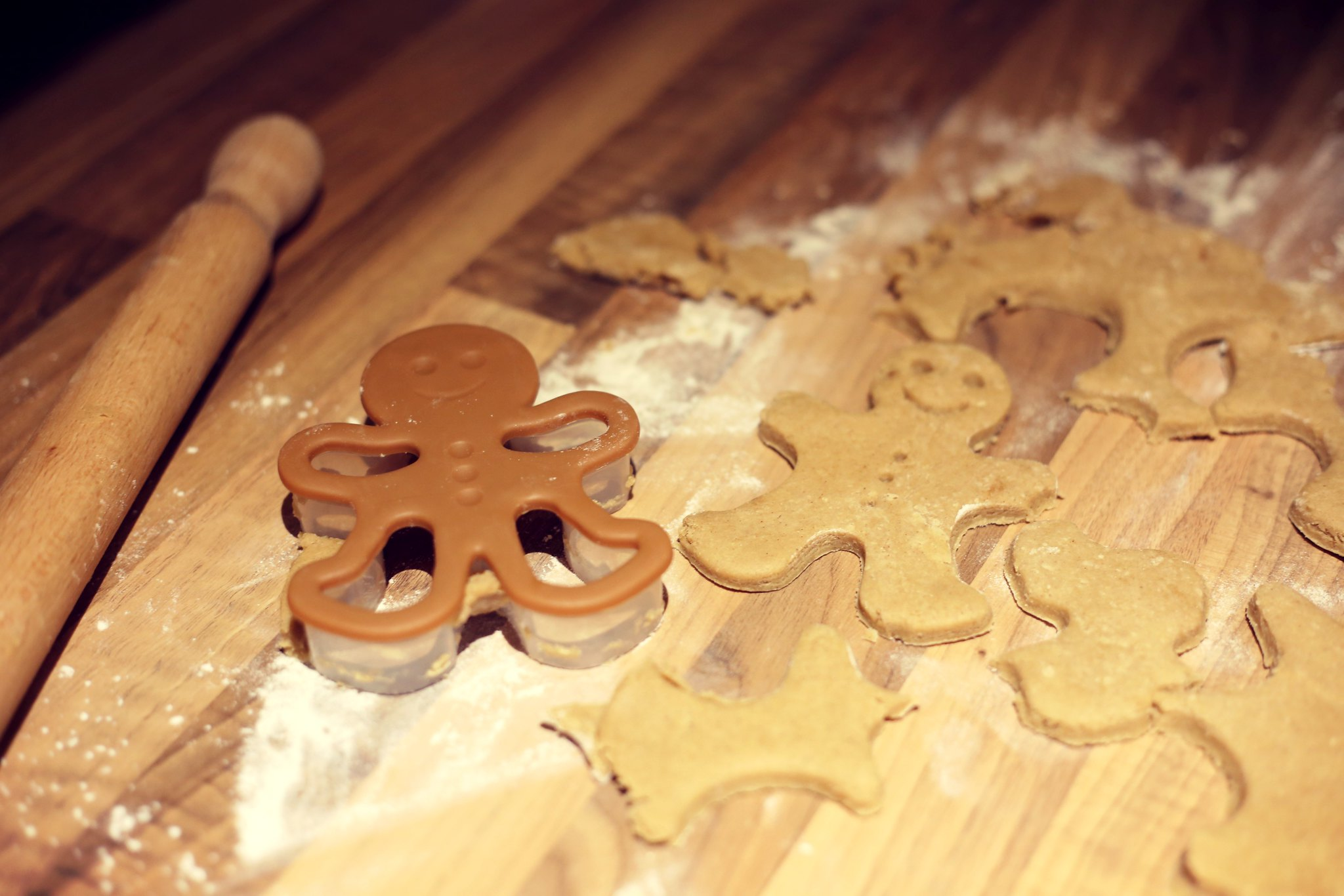 home baking gingerbread