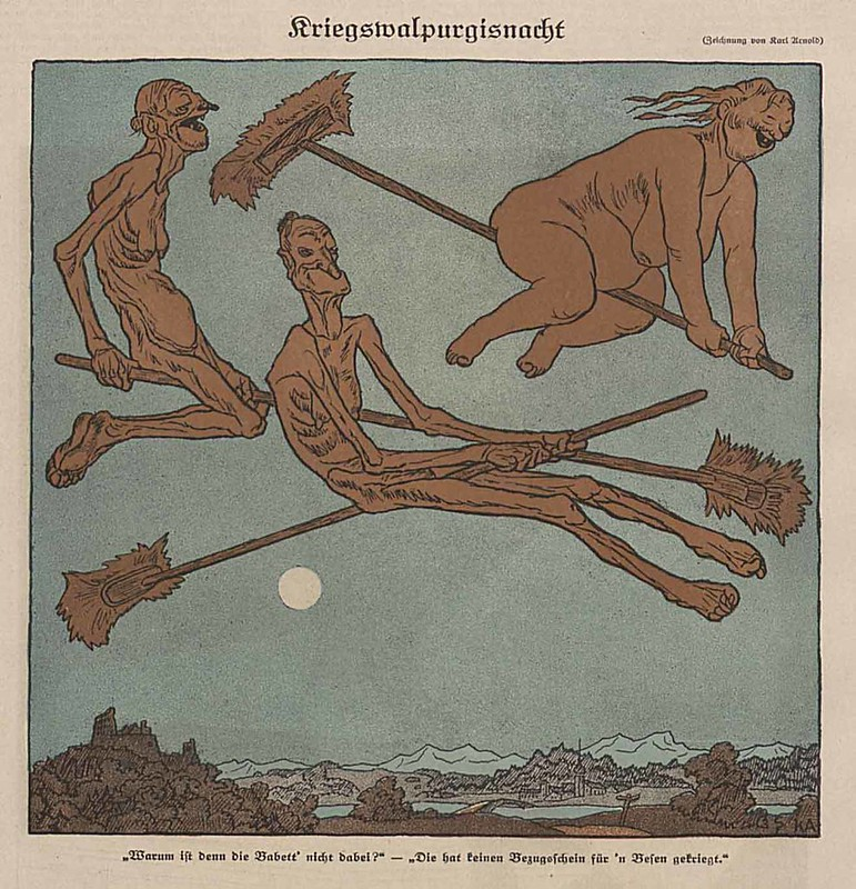 Karl Arnold - War Walpurgisnacht, 1918