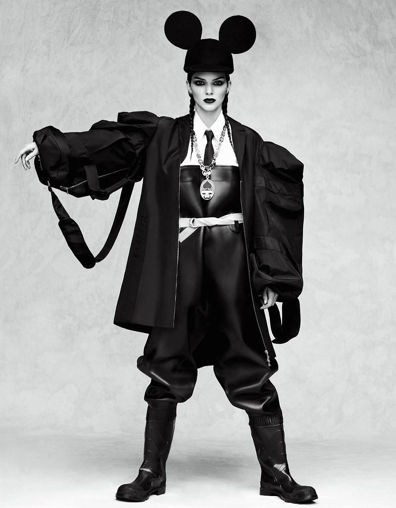 Кендалл Дженнер — Фотосессия для «Vogue» JP 2016 – 10