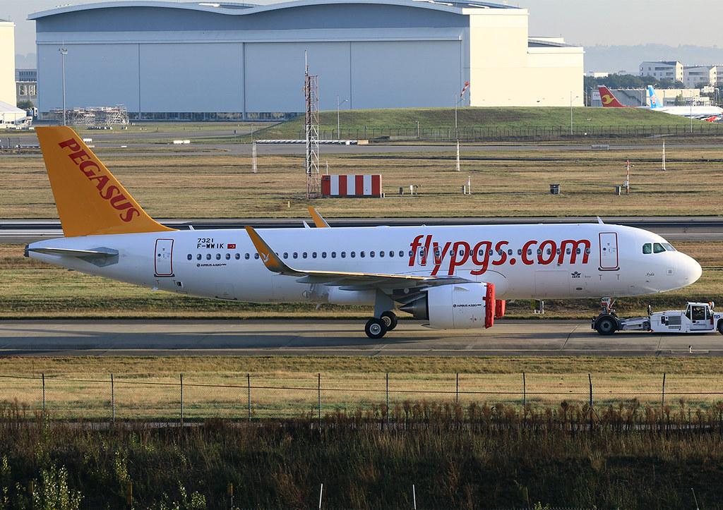 TC-NBF - A20N - Pegasus Airlines