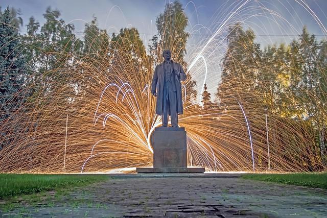 Lenin. More than alive.
