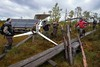 Besides, the summer school participants helped in some MFS chores: wind turbine installation