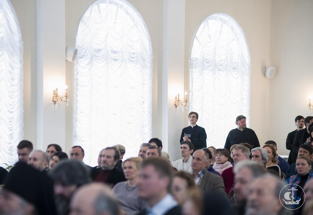 13 ноября 2016, 45 лет хору Санкт-Петербургской митрополии / 13 November 2016, 45 years celebrated choir of St. Petersburg Diocese