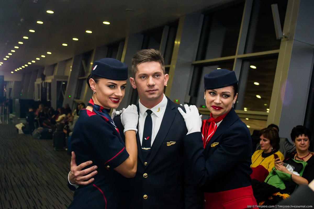 Победители конкурса авиамоды Sky swallows/Небесные ласточки 2016 — Azur Air Украина