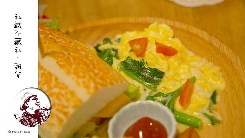 私藏Brunch-起士麵包堡(香腸)