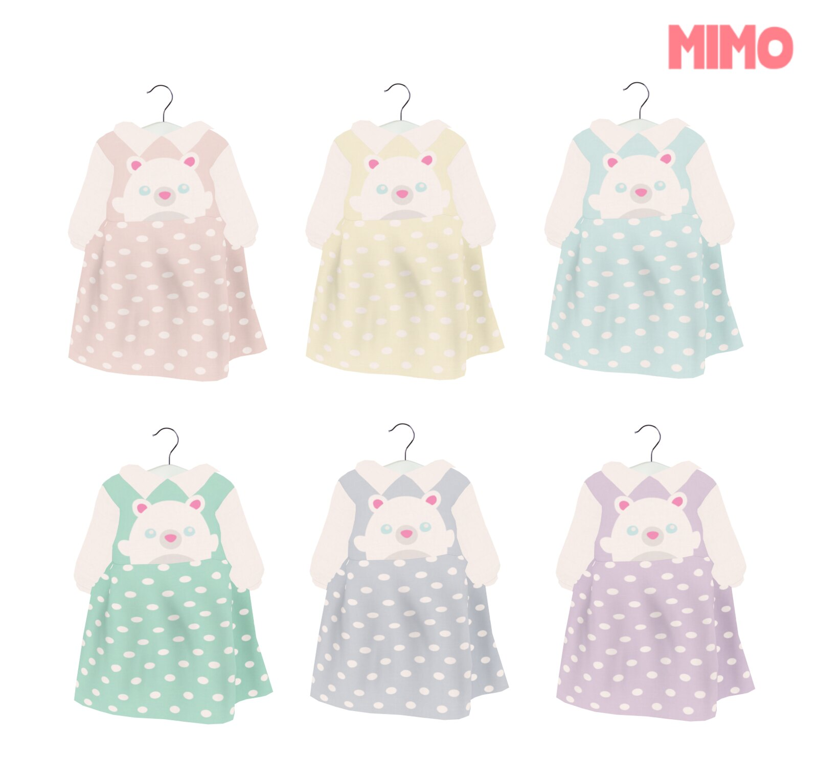 {Mimo} Cute Bear Dress ToddleeDoo
