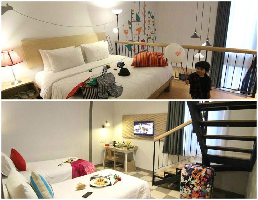 14 hotel murah keren di bandung di bawah nakita id for Dekor kamar hotel di bandung