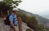 Jerry at the top of Whiteside Mtn JK by Mosaic Photos1