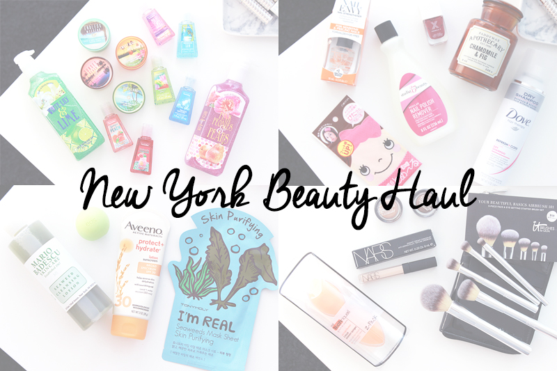 New York Beauty Haul