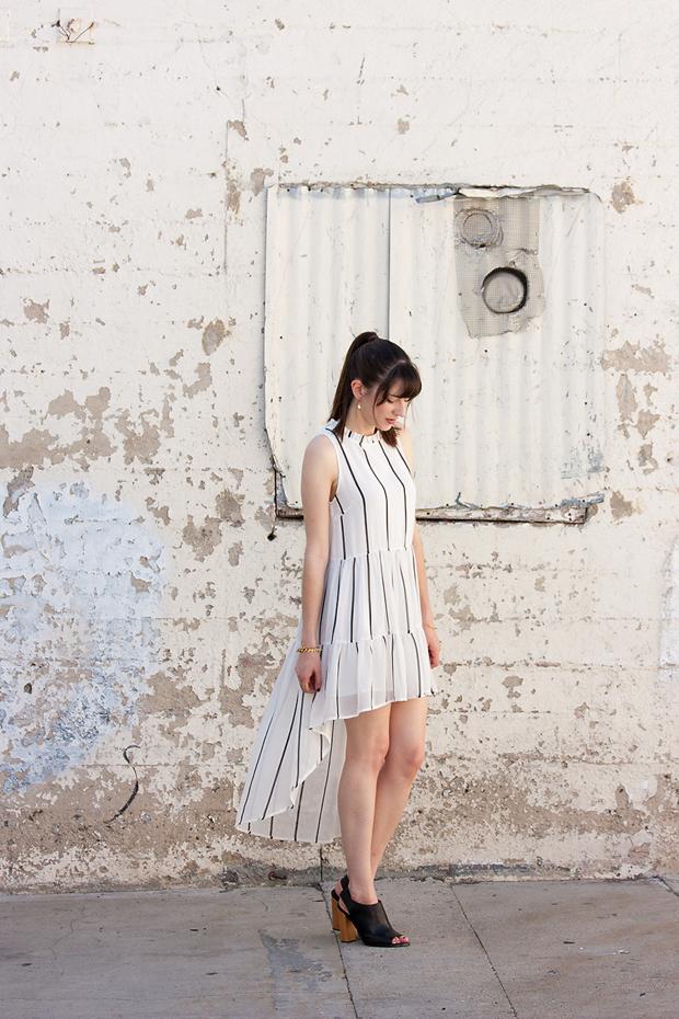 Summer Dress, Elliatt Dawn Stripe Tunic Dress