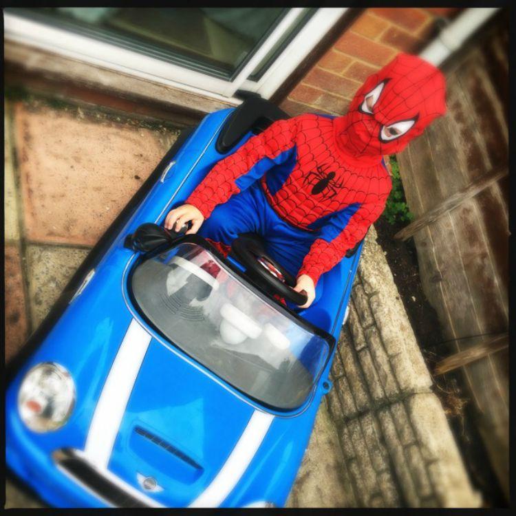 spiderman fine too