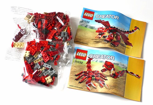 LEGO Creator 31032 Red Creatures box03