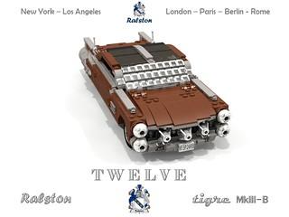 Ralston 1964 Tigre MkIII-B < T W E L V E > GlassRoof Hardtop
