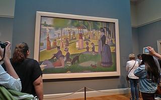 Chicago - Art Institute of Chicago Seurat Jatte