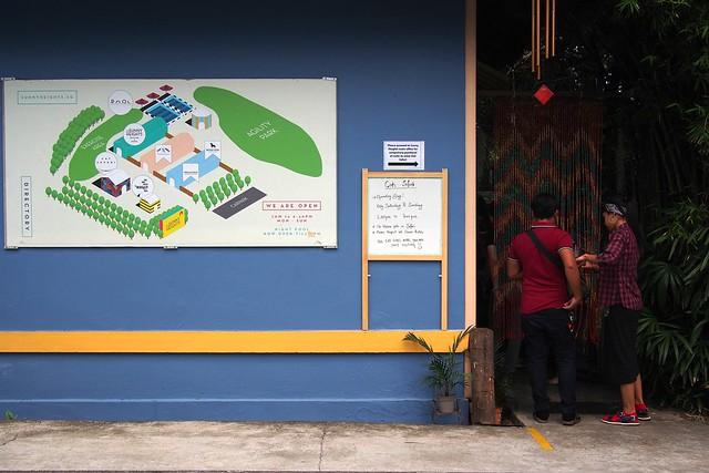 map + entrance to Cat Safari. Sunny Heights, Turf City, 110 Turf Club Road, Singapore