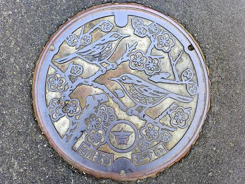 Yoshikawa Nigata, manhole cover (新潟県吉川町のマンホール)