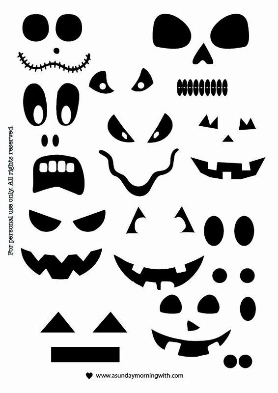 Halloween-facce-mostruose-stampabili-free-printable-occhi-naso-bocca