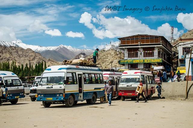 Local Bus stop, Leh