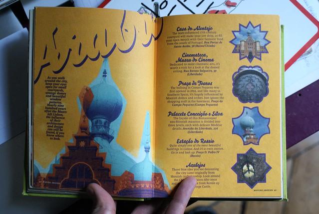 Pages intérieures du guide Lecool Lisbonne.