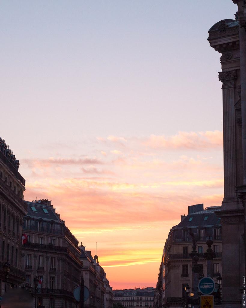 Sunset, Opera