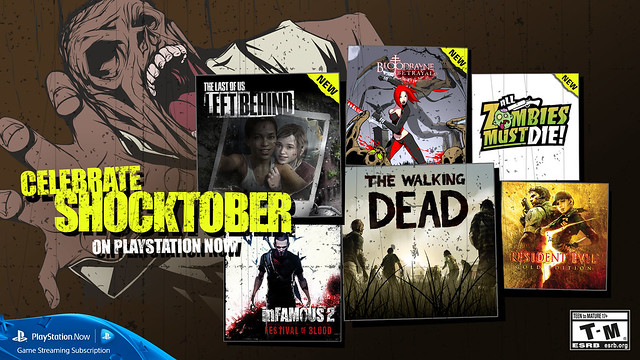 PlayStation Now - Shocktober