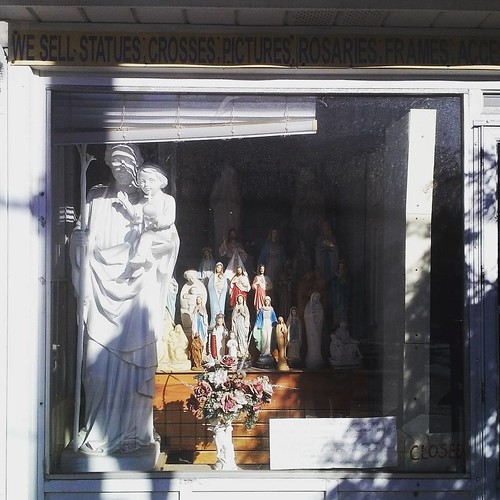Religious statues for sale #toronto #statues #cabbagetown