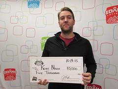 Kent Nash - $5,000 Lucky For Life